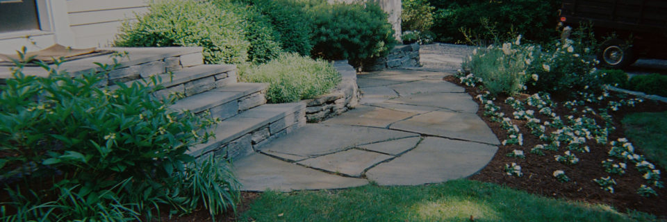 We provide landscaping
